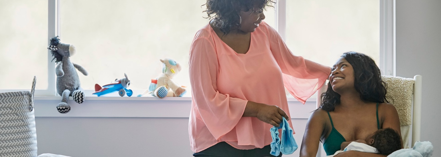 Everyone has a role to play in helping mom and baby get off to a good start with breastfeeding.